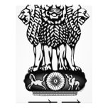 La India Ashoka Chakra Plantilla De Membrete