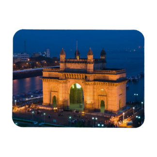 La INDIA, Bombay (Bombay): Entrada de la India/ Imanes Rectangulares