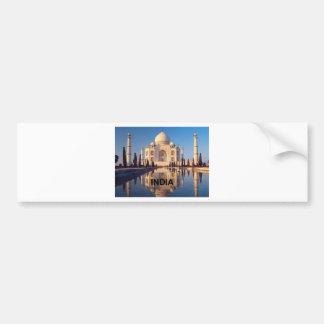 La India el Taj Mahal Angie Pegatina Para Auto