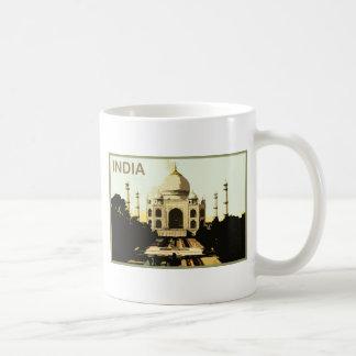 La India el Taj Mahal Tazas