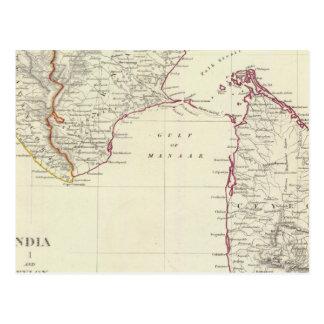 La India I y Ceilán Postales