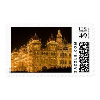 La INDIA, Karnataka, Mysore: El palacio de Estampilla