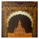 La INDIA, Karnataka, Mysore: El palacio de Majaraj Teja Cerámica