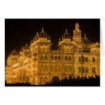 La INDIA, Karnataka, Mysore: El palacio de Majaraj Felicitacion