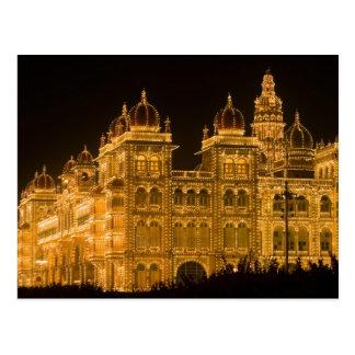 La INDIA, Karnataka, Mysore: El palacio de Postal