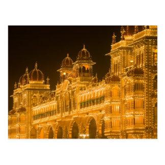 La INDIA, Karnataka, Mysore: El palacio de Tarjetas Postales