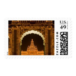 La INDIA, Karnataka, Mysore: El palacio de Timbres Postales