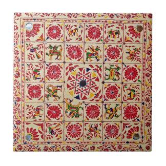 La India mano-bosquejó el modelo Teja Ceramica