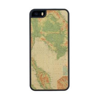 La India más lejana Funda De Arce Carved® Para iPhone 5 Slim