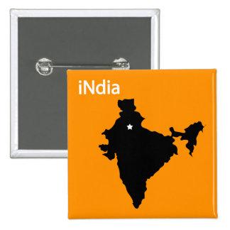 la India Pin Cuadrado