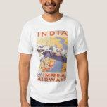 La India por Imperial Airways Polera