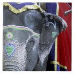 La India, Rajasthán, Jaipur. Fuerte ambarino Azulejos