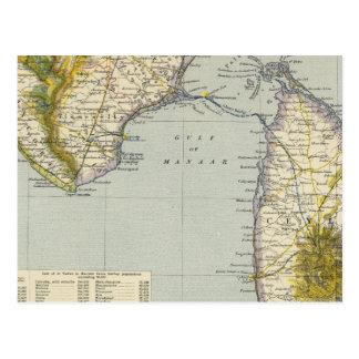 La India, Sri Lanka Postal