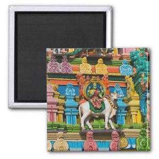 La INDIA, Tamil Nadu, Chennai: Kapaleeshwarar Imán Cuadrado