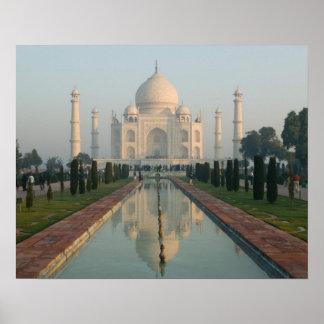 La INDIA Uttar Pradesh Agra El Taj Mahal mañan Impresiones