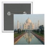 La INDIA, Uttar Pradesh, Agra: El Taj Mahal, mañan Pin