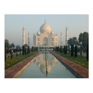 La INDIA, Uttar Pradesh, Agra: El Taj Mahal, mañan Postal