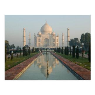 La INDIA, Uttar Pradesh, Agra: El Taj Mahal, Postal