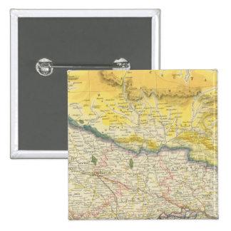 La India y Nepal Pin