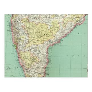 La India y Sri Lanka 2 Tarjeta Postal