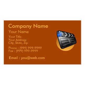 La industria del cine tarjetas de visita