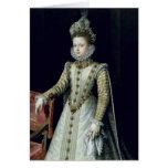 La infanta Isabel Clara Eugenie 1579 Tarjeton