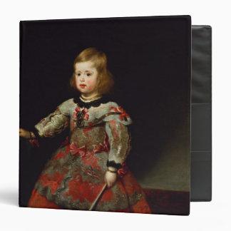 "La infanta Maria Margarita de Austria Carpeta 1 1/2"""