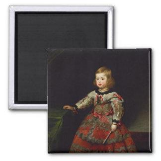 La infanta Maria Margarita de Austria Imán Cuadrado