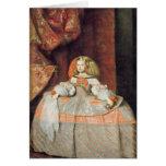 La infanta Maria Marguerita en rosa Felicitación