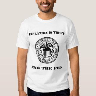 La inflación es hurto playeras