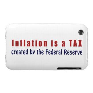 La inflación es un IMPUESTO creado por Federal Funda Para iPhone 3 De Case-Mate