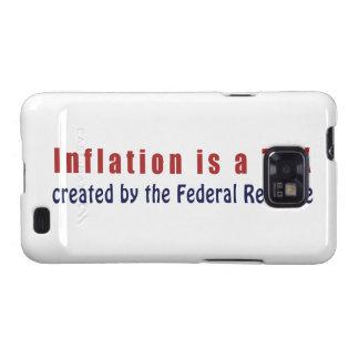 La inflación es un IMPUESTO creado por Federal Res Samsung Galaxy SII Carcasas
