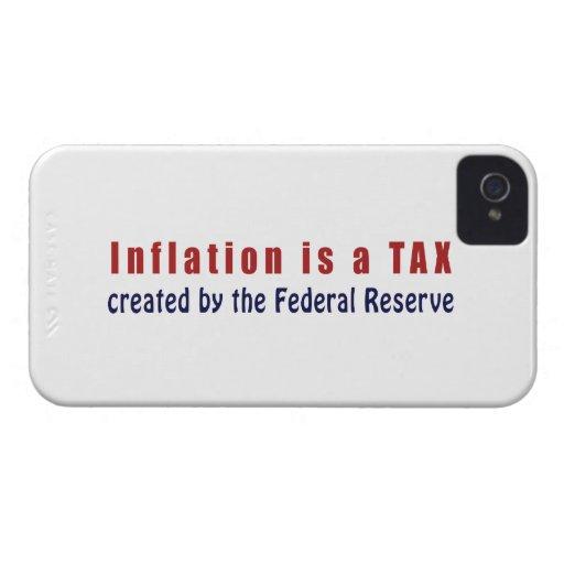 La inflación es un IMPUESTO creado por Federal Res Case-Mate iPhone 4 Protector