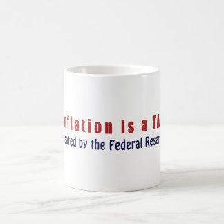 La inflación es un IMPUESTO creado por Federal Taza