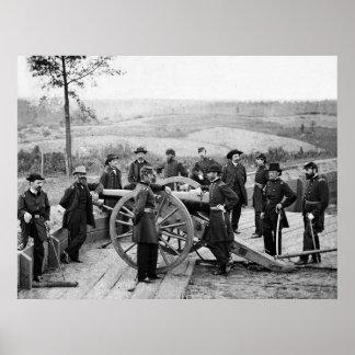 La infracción de Sherman: 1864 Póster