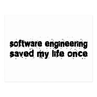 La ingeniería de programas informáticos ahorró mi postal