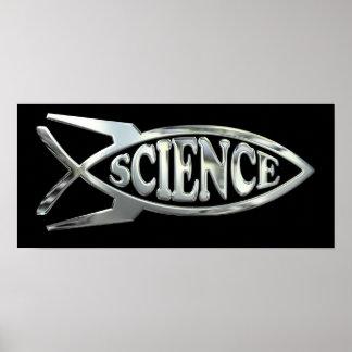 La ingeniería espacial desarrolla pescados en el póster