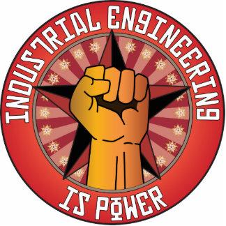 La ingeniería industrial es poder escultura fotográfica