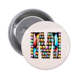 La inicial conocida preciosa M milímetro MMM n dej Pins