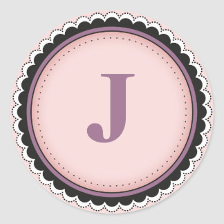 La inicial el || añade su propio personalizado del pegatina redonda