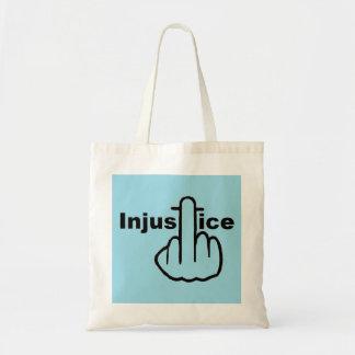 La injusticia del bolso es mala bolsas