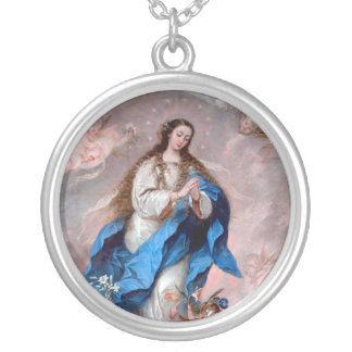 La Inmaculada Concepción Colgante Redondo