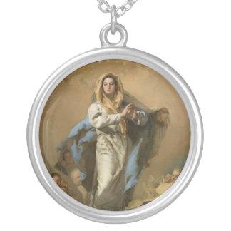 La Inmaculada Concepción de Juan B. Tiepolo Colgante Redondo