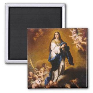 La Inmaculada Concepción Imán Cuadrado