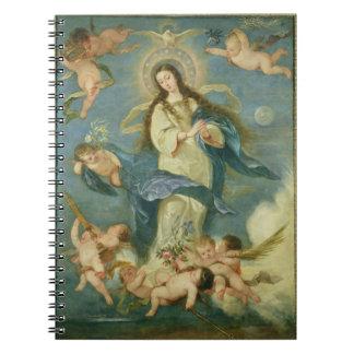 La Inmaculada Concepción Libros De Apuntes Con Espiral