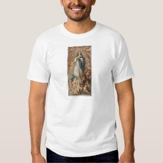 La Inmaculada Concepción por litográfico americano Remeras