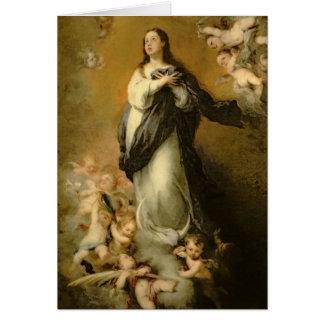 La Inmaculada Concepción Tarjeta De Felicitación