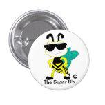 La insignia del azúcar el b pins