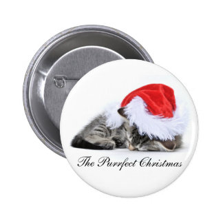 La insignia del navidad de Purrfect Pins