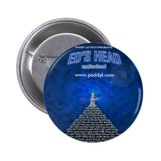 La insignia principal de Ed Pin Redondo 5 Cm